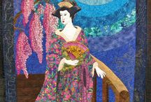 Ideas for asian quilt / by Pamela Boatright