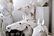 papier scultures
