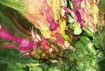 Alcohol Ink Art / A collection of alcohol ink paintings featuring the art of Carol Cavalaris.