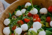 Caprese Pesto  Salad