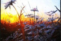 Demian Carey Gibbins - Landscapes / Original landscape paintings