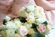 Bridal Bouquets / A selection of different size, style and colours of bridal bouquets.