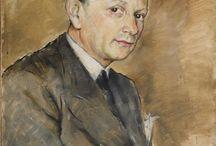 PAL FRIED (1893-1976) - ученик Моне и проследователь Дега / ПАСТЕЛЬ И МАСЛО
