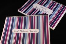 Planner & Journal / This is a Craft Maker's Planner and Soap Recipe Journal, great for the small crafter, or the serious business owner.  This planner will get even the most disorganized crafter organized.