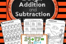 Always Teaching Addition / Ideas and resources for teaching addition.