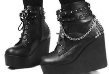 Shoes / Wedges, platforms, gothic, sandals, boots, mary janes