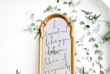 Calligraphy / Fine art, timeless calligraphy perfect for wedding, event, and business details.