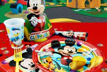 Mickey Mouse festartikler / Alt til din Mickey Mouse børnefødselsdag og sjov.
