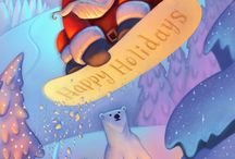Christmas Cards by Illustrators (Promo)