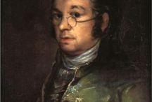 arte - Francisco Goya (1746-1828) / arte - pittore e incisore spagnolo