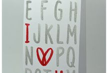 Stampin' Up! - Layered Letters