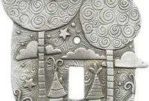 seramik duvar panosu