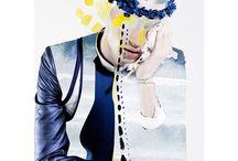 combine art+fashion