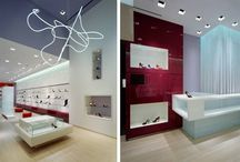 Hirshleifer's Shoe Salon / Shoe store design in Americana Manhasset. Retail store design by Sergio Mannino Studio, one of the leading retail design firms in New York.