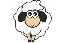 De nubes y ovejas / Nuestra mascota es una oveja. ¿Por qué? ¡Porque es una nube con los pies en la tierra!