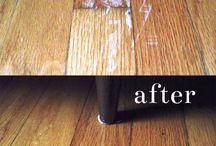 fixing wooden floors