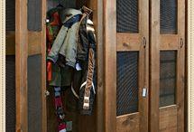 Inspiratie houten lockers / meubels