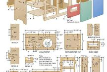 bucatarie de jucarie-lemn