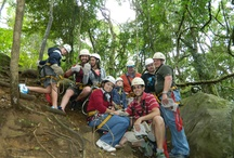 Team Building / Team building doesn't get much more exciting than zip-lining through the Karkloof forest canopy or river rafting along the Vaal together! The Vaal has outstanding conference and accommodation facilities for day outings  or strategic sessions away. Within easy reach of most business centres in Gauteng, the region has much to offer in the form of team building activities - river rafting being just one of the many.