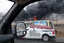 Viral Video - VIDEO - Truck Crash Causes Huge Fire