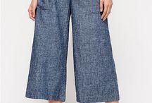 Kulot and Pants