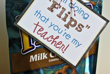 Back to School! / Ideas for teacher gifts, etc.