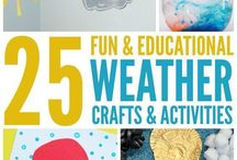 Weather Activities for Kids / Teach kids about the science of weather with these fun weather activities and children's books! #weatherbooksforkids #weatheractivitiesforkids #weatherscienceexperiments