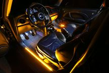 LED Interior Accent Lighting / Liven up your vehicle's interior with LED lights! Add some zest with a pop color and increased brightness for a look worthy of attention!