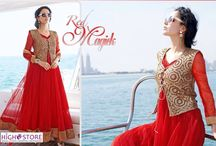 Rock in the bliss of elegance and grace. / The latest trends in Anarkali suits. Be the first to own it.