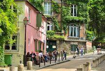 Montmartre seta / Párizsi részlet.