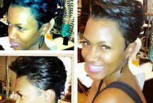 Coiffures de femmes noires