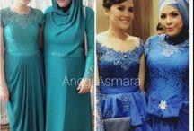 Contoh Dress Kebaya Keluarga