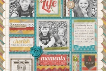 Scrapbook Layouts / Paper or Hybrid Layouts of any size / by Christine DePol