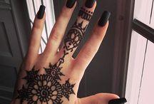 henna tetkók