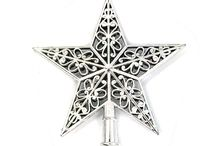 Christmas Tree Top Sparkle Stars Decoration