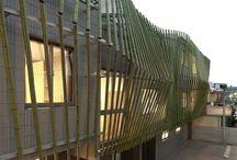 Arquitectura Bambu / Tablero que muestra proyectos ajenos a Mo.A, que sirven para expresar nuestras preferencias arquitectónicas