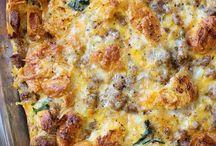 Breakfast / Eggs, casseroles, waffles, pancakes, crepes, etc.
