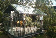 mirror house garden