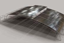 Arquitetura Unimep -  Plástica Digital - 1º semestre / Planos e Linhas