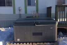 Hot Tub Installations / The great work our Hot Tub Delivery Team has done!