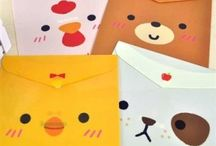 Envelope craft idea / This page has a lot of free Envelope craft idea for kids,parents and preschool teachers.
