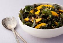 I Love Kale / As soon as I found out the secret to a good kale salad was in the massage you give it beforehand, I realised I'd unlocked a massive health secret. Try these kale recipes and made sure you knead it! :)