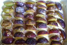 prăjitură cu prune și nuci