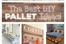 Pallet furniture / Using pallets to create furniture and other home decor