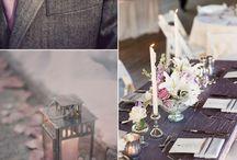 Серо-лиловая свадьба