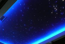 starry sky on the ceiling