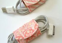 : Tutorial: DIY Cord Keeper From Fabric Scraps
