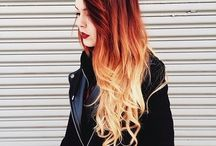 STYLPHY ♡ Dip dye hair