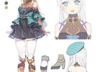 資料:キャラクターメイク