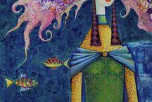 Zaya paintings